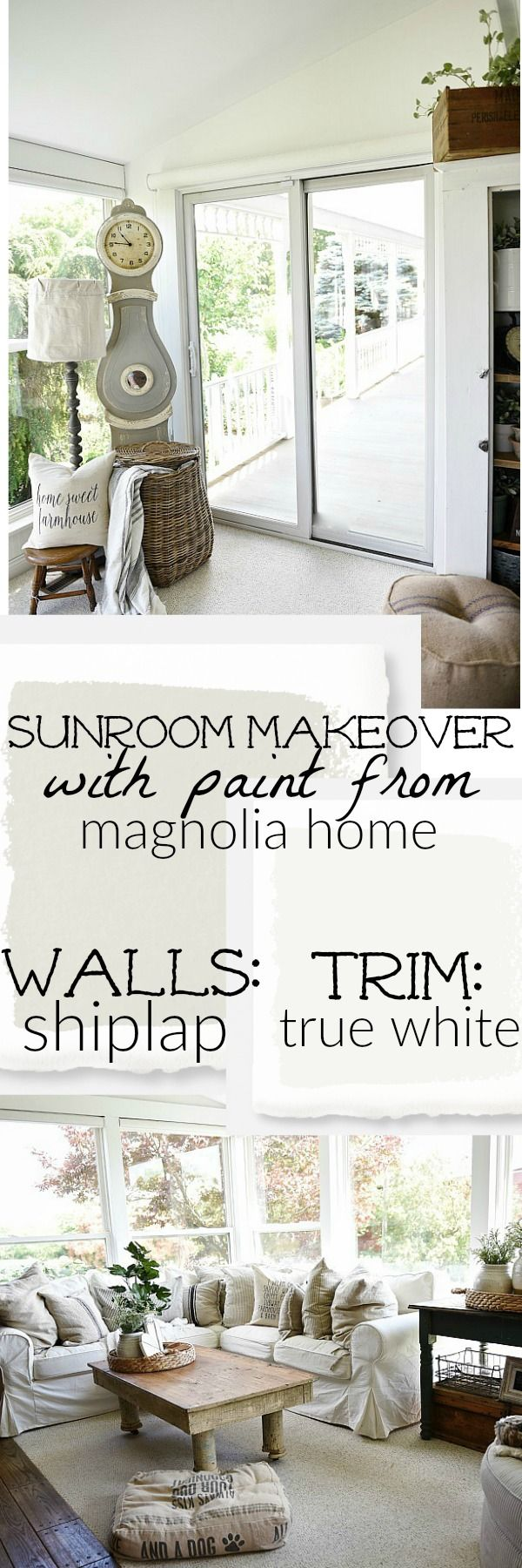 Blogger Liz, of Liz Marie Blog, used the Magnolia Home Paint ...