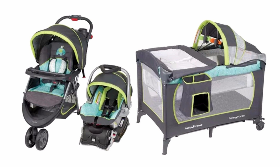 Baby Stroller Car Seat Infant Nursery Playard Travel System New And