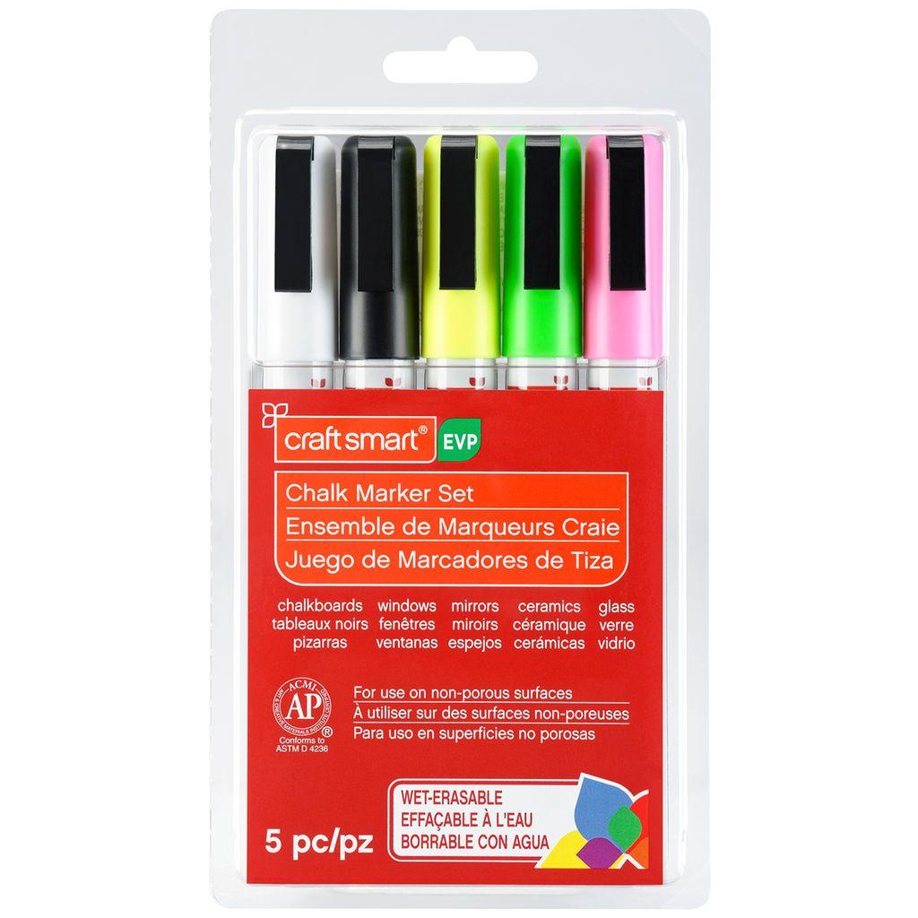 Bright Fine-Point Chalk Marker Set By Craft Smart