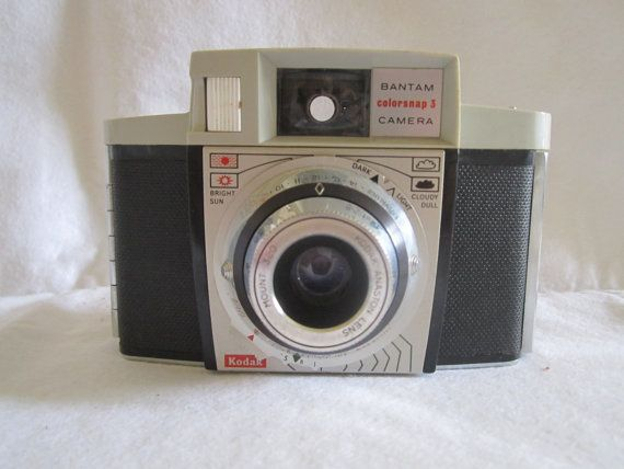 Kodak Bantam Colorsnap 3 Camera. $15.00, via Etsy.