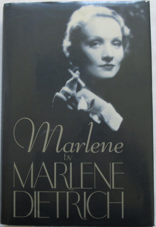 Marlene, Marlene Dietrich, Autobiography, First Edition.