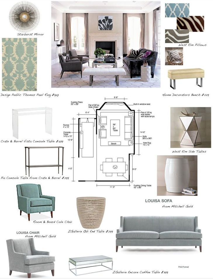 How To Present An Interior Design Board To Your Client Kathy Kuo Home Interior Design Presentation Interior Design Boards Interior Design Mood Board