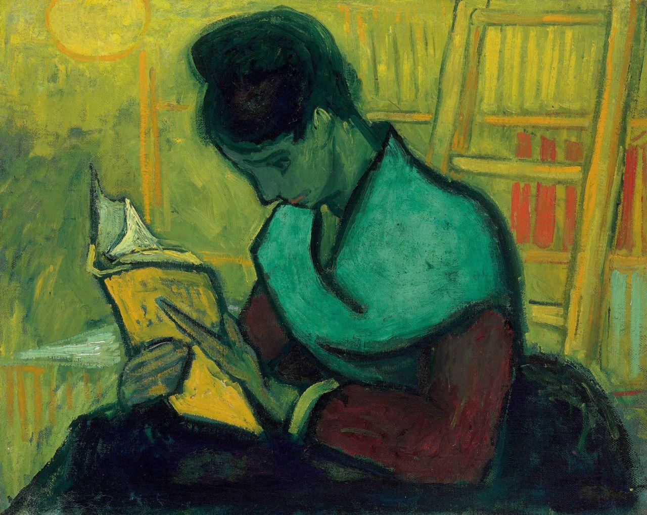 alongtimealone: Van Gogh, The Novel Reader,