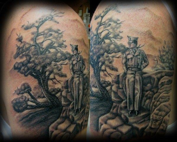 Tattoos By Devlin Dog Tattoos Dog Tattoo Tattoos