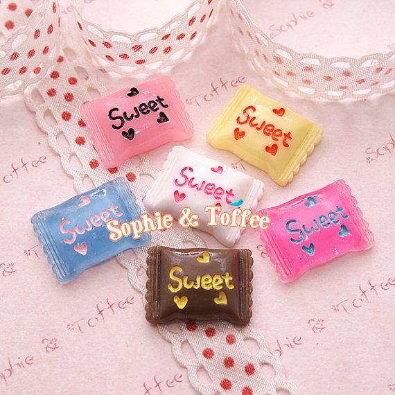 Kawaii Cabochon / Miniature Sweets / Decoden Cabochon - 12pcs