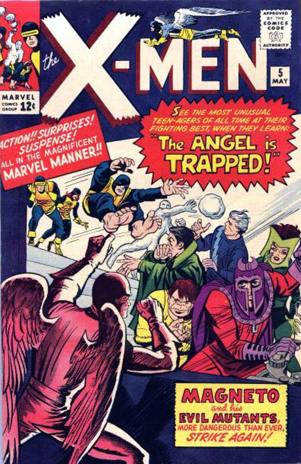 X Men Vol 1 5 Marvel Comic Books X Men 5 Comic Books