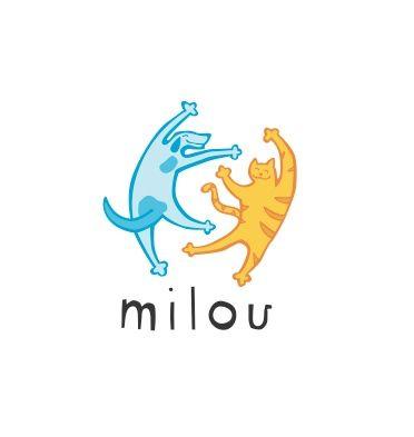 Milou Pet Store Logo Pet Store Pet Dogs Images Animal Logo