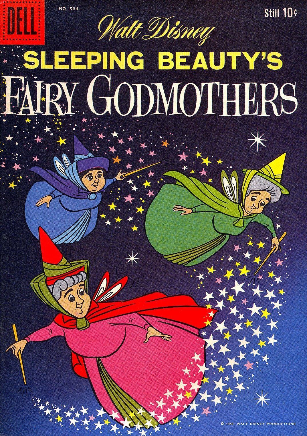 Sleeping Beauty S Fairy Godmothers 1959 Sleeping Beauty