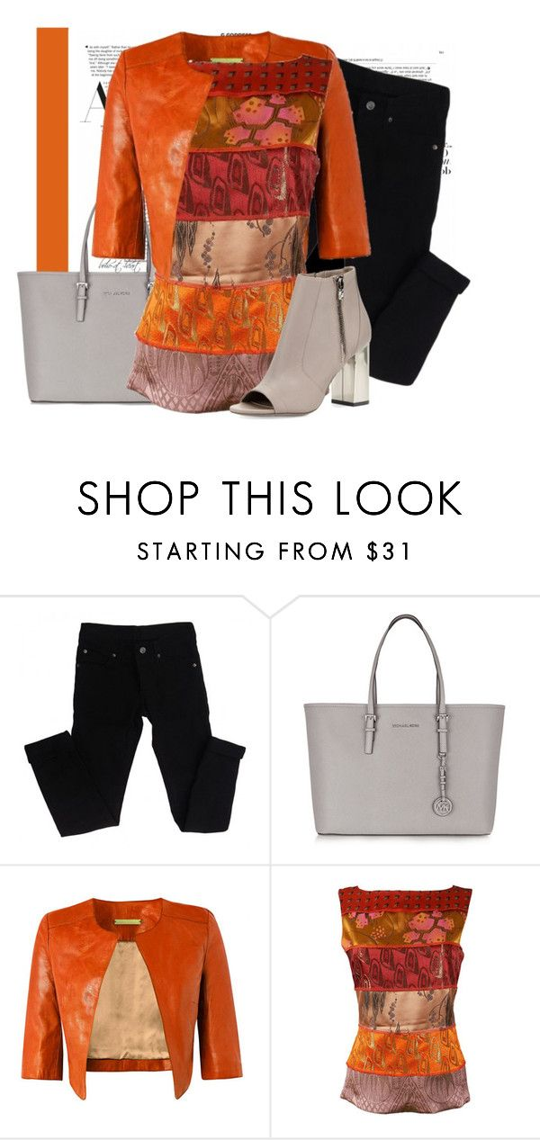 """""""Untitled #646"""" by boho-at-heart ❤ liked on Polyvore featuring Cheap Monday, MICHAEL Michael Kors, Richards Radcliffe, Jean-Paul Gaultier and Vince"""