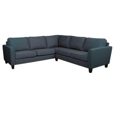 Debenhams Charcoal Grey Dante Corner Sofa With Dark Wood Feet At Debenhams Com Corner Sofa Condo Decorating Living Room Kitchen