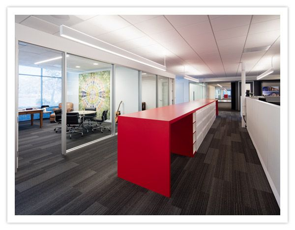 MBH Architects Chose HP 2 Indirect/Direct Linear LED Lighting In Their Open  Office