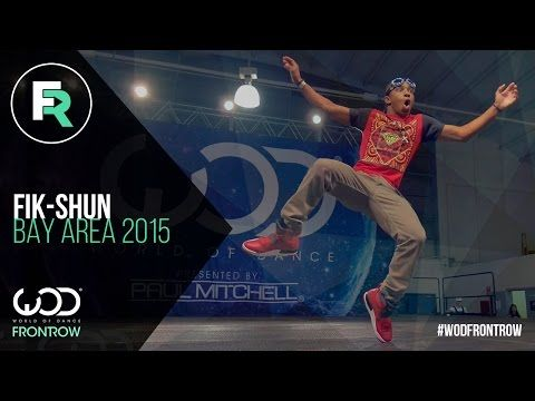 I can watch him all day!! Fik-Shun | FRONTROW | World of
