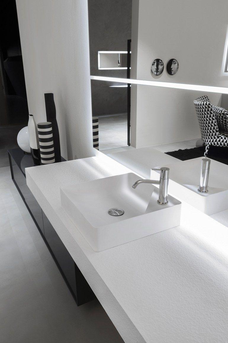 Quadratisches Aufsatzwaschbecken Aus Flumood Simplo Quadratisches Waschbecken Antonio Lupi Design Waschbecken Aufsatzwaschbecken Waschtisch