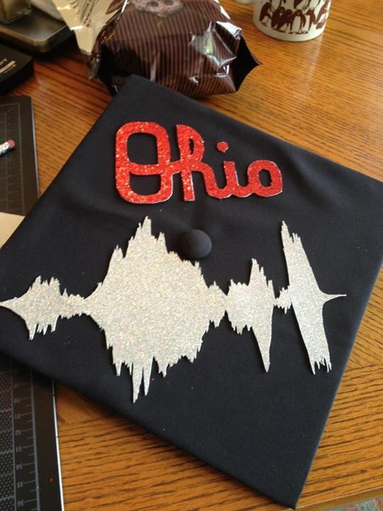 Audiology major | Random | Pinterest | Grad cap, Crafty and Craft