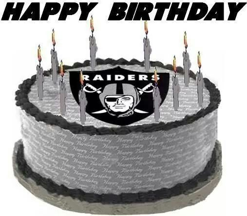 Happy Birthday Raider Cake Raiders Pinterest Happy