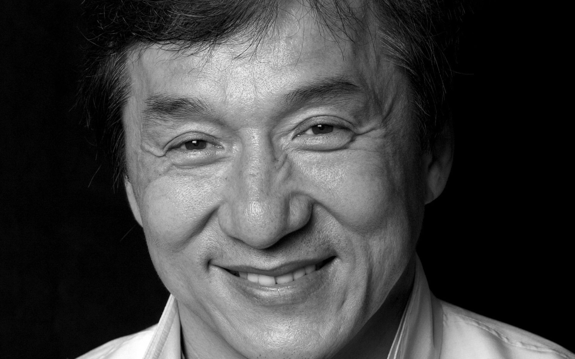 Image Detail For Free Download Hq Greyscale Photo Jackie Chan