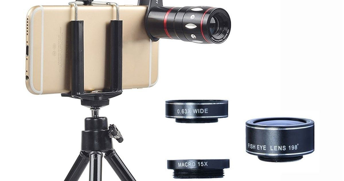 Best 4 in 1 mobile iphone tablet telescope camera lenses almost