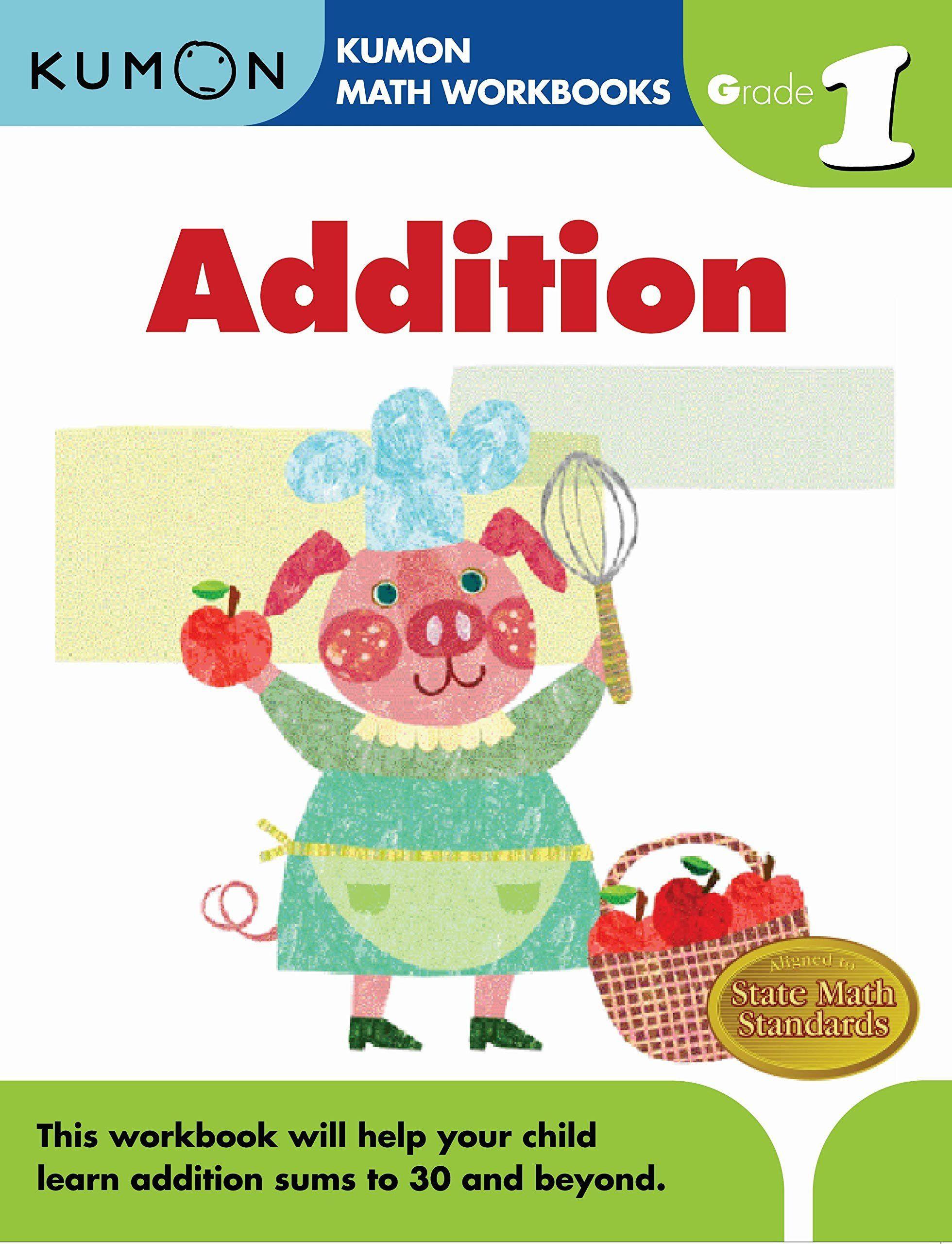 Kumon Printable Worksheets Free Grade 1 Addition Kumon