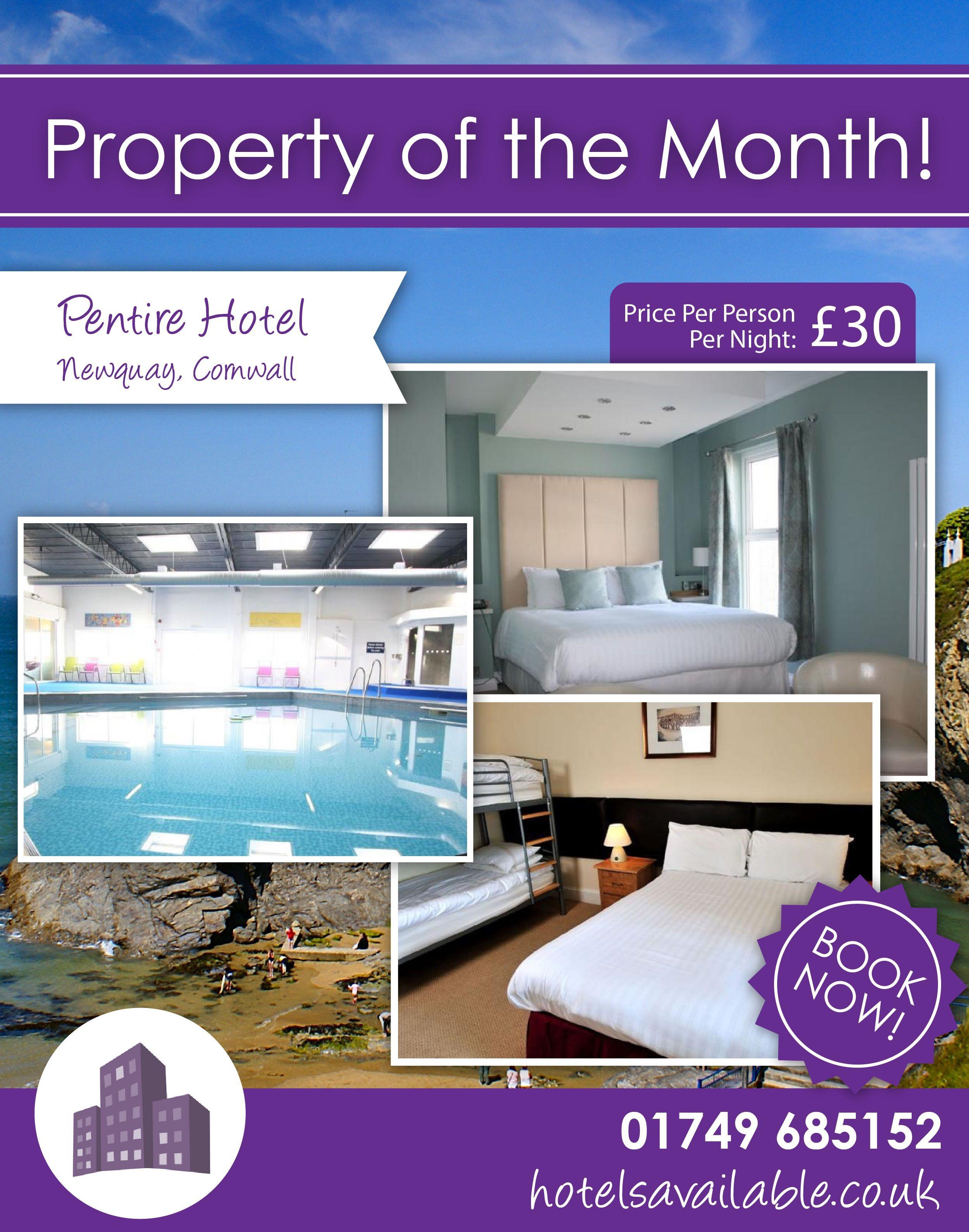 Pentire Hotel Newquay Cornwall England Holiday Break Travel