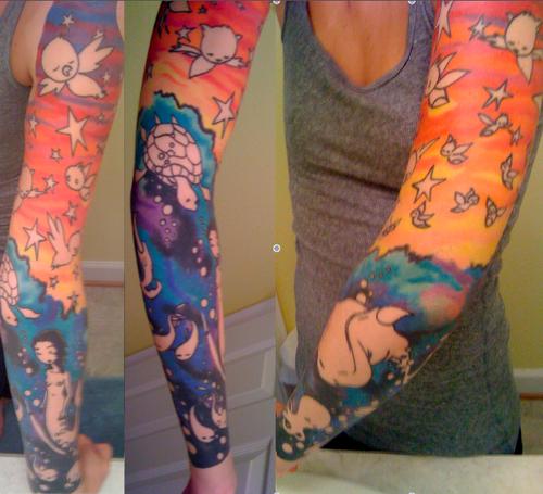 sleeve tattoos!