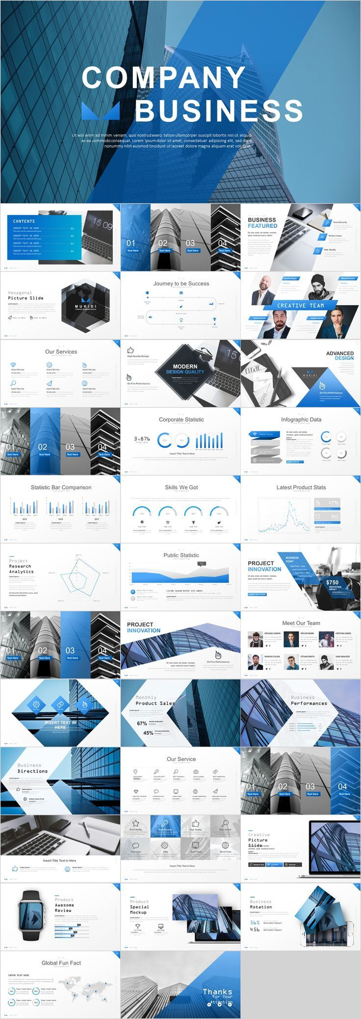 36 Best Company Business Blue Powerpoint Templates On Behance Powerpoint Templates Ideas Of Powerpo Powerpoint Vorlagen Power Point Powerpoint Prasentation