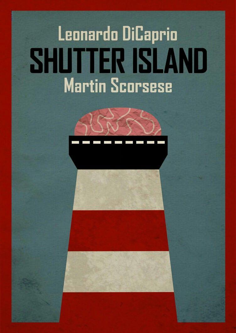 Isla Siniestra Martin Scorsese Carteles De Peliculas La Isla Siniestra Martin Scorsese