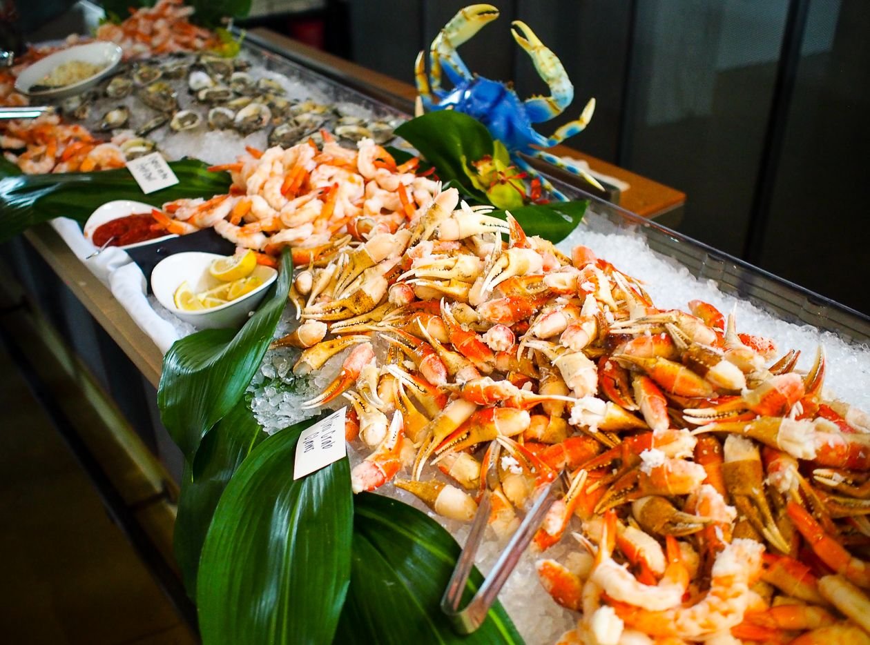The seafood buffet at Ulele restaurant in Tampa. http ...