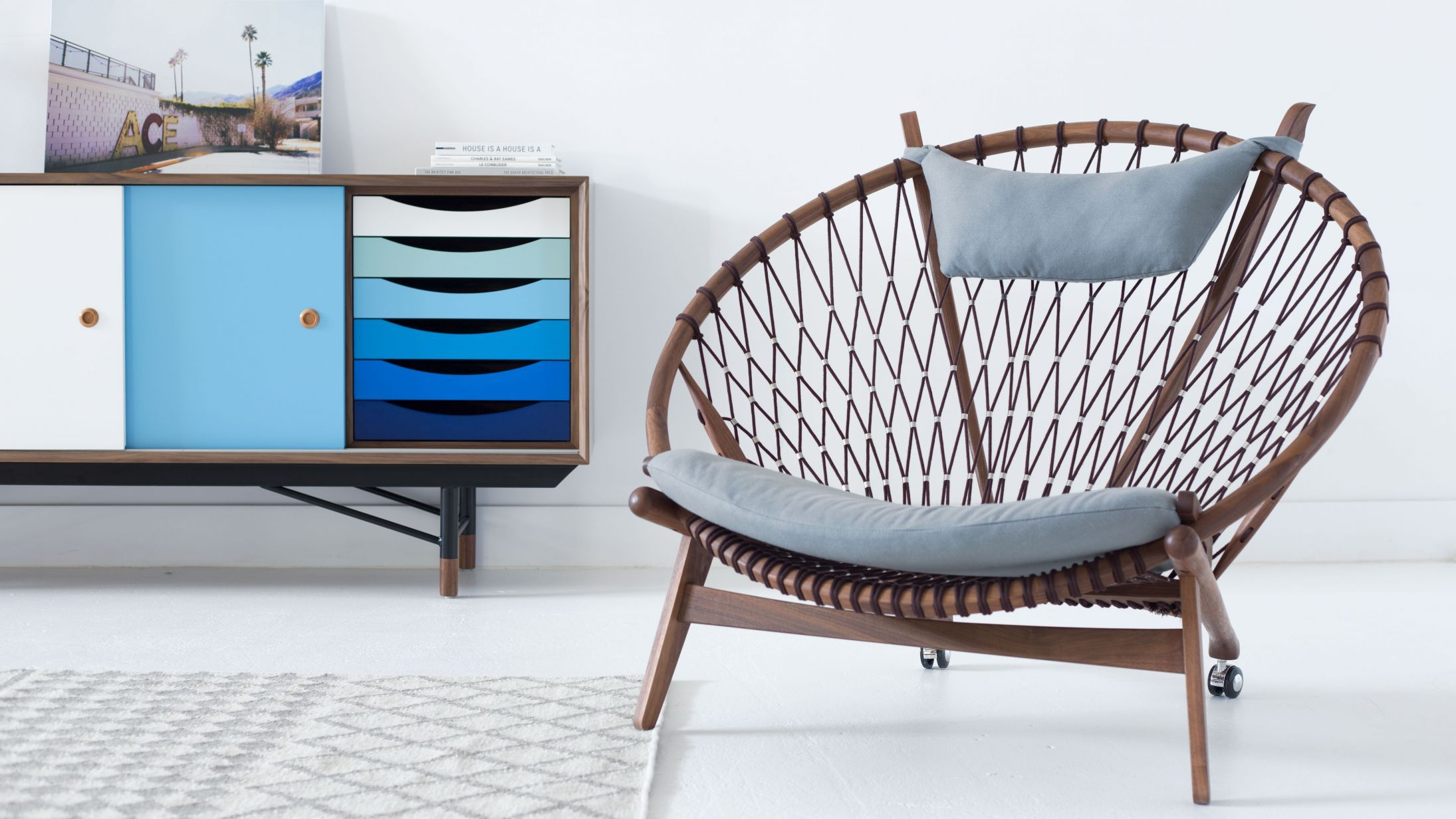 Awesome These Classic Mid Century Modern Designs Come Together With Waves Of Color  And Immaculate Texture · Circle ChairThe ...