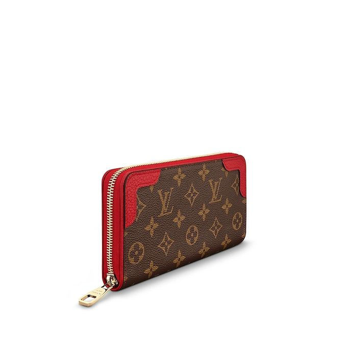 9f9189e1182db View 2 - Monogram SMALL LEATHER GOODS WALLETS Zippy Wallet Retiro ...