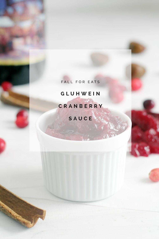 Ест |  Клюквенный соус Gluhwein |  Падение для DIY
