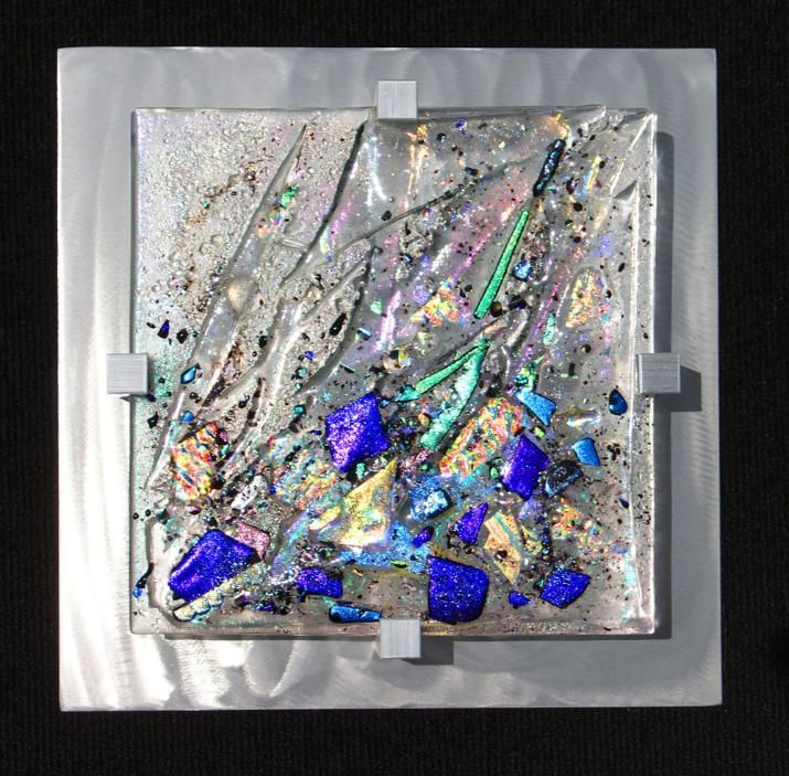 Mardi Gras By Frank Thompson Fused Glass Art Glass