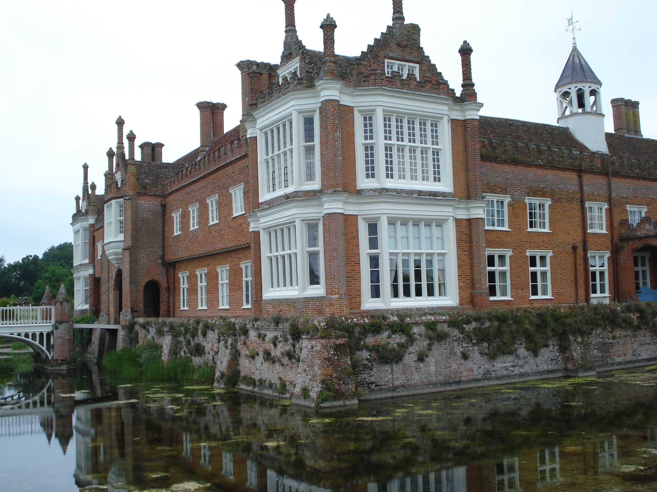 Helmingham Hall Is A Moated Manor House In Helmingham Suffolk