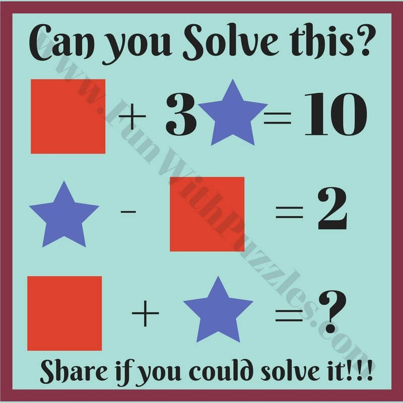 Kids Math Equations Riddles with Answers   Math riddles, Math for kids,  Math riddles brain teasers