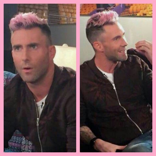I Love The Pink Hair Adam Is So Beautiful No Matter His Hair