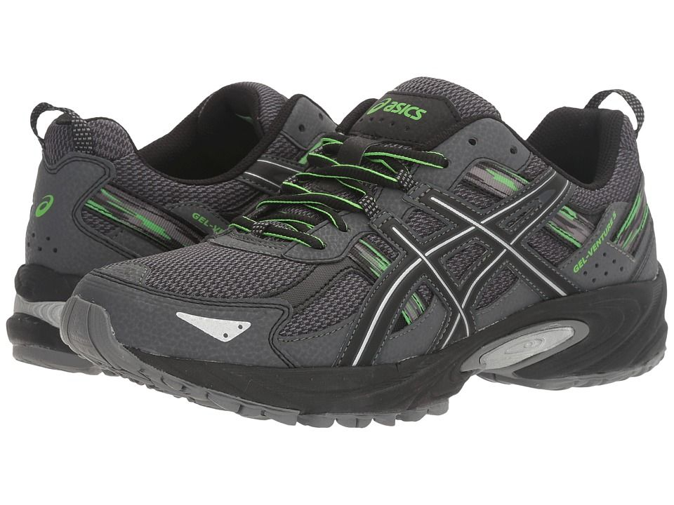 be837a6fe2f9 ASICS ASICS - GEL-VENTURE(R) 5 (CARBON SILVER GREEN. Shoes For RunningAsics  Running ShoesMens ...