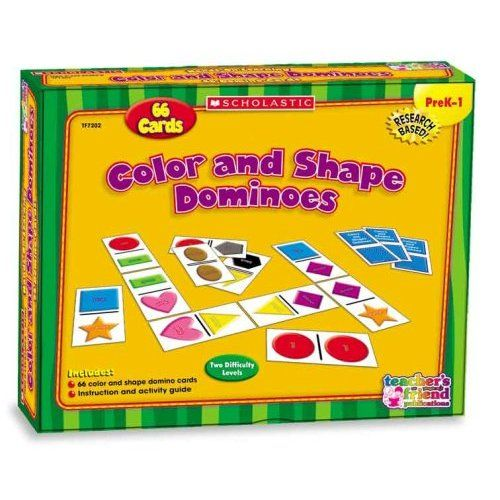 Color and Shape Dominoes (Scholastic Hands-On Learning): Karen Sevaly: 9780439824026: Amazon.com: Books