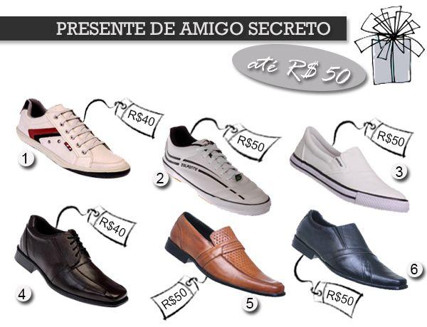 Presentes de Amigo Secreto ou de Amigo oculto  http://blogdesapato.wordpress.com/2013/12/18/presente-de-amigo-secreto-ate-r5000/