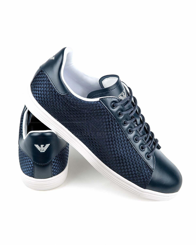 huge selection of 563f7 59305 Zapatillas Armani Jeans ® Hombre - Techno Fabric   ENVIO GRATIS