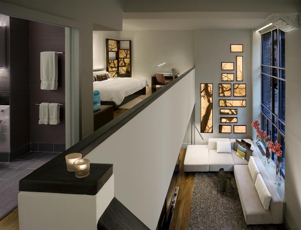W New York Wow Suite Loft Interior Design Unique Hotel Rooms Home Interior Design