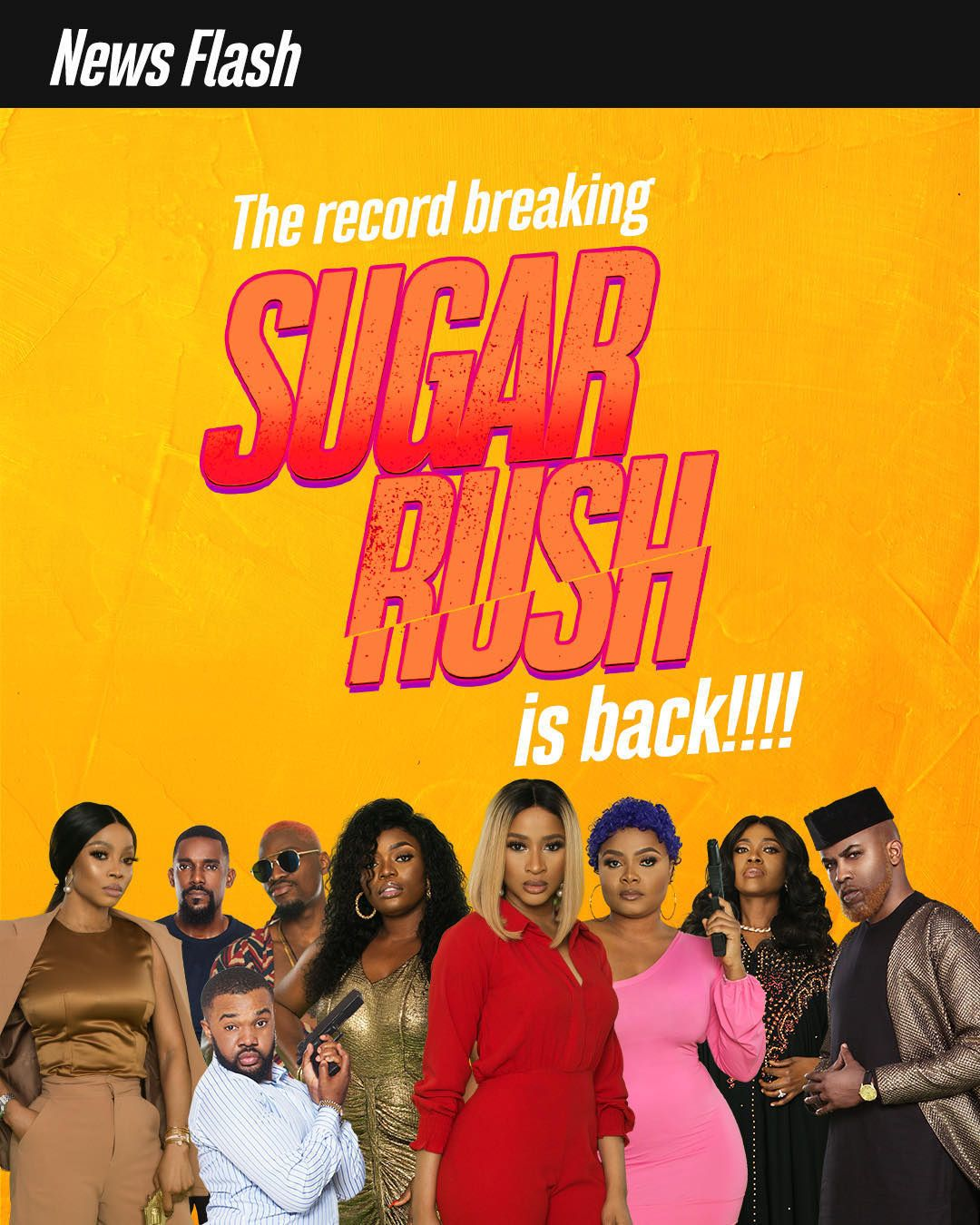 'Sugar Rush' Movie Is Back In Cinemas! in 2020 Rush