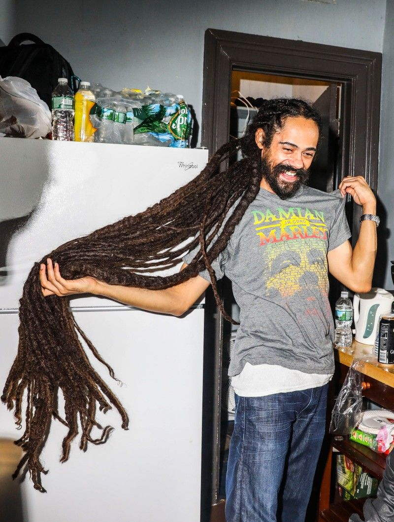 Pin by Alvinia pearson on Bob & Cindy in 2020 | Damian marley, Long dreads, Dreadlock styles