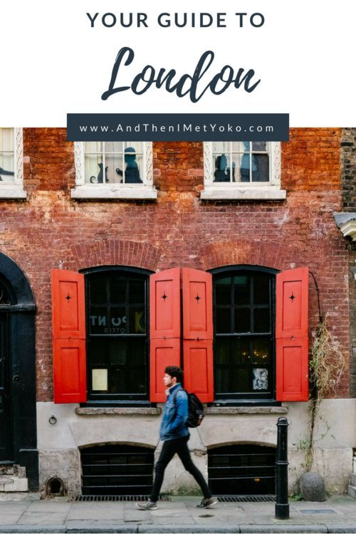A Handy Travel Guide With London Photography Locations