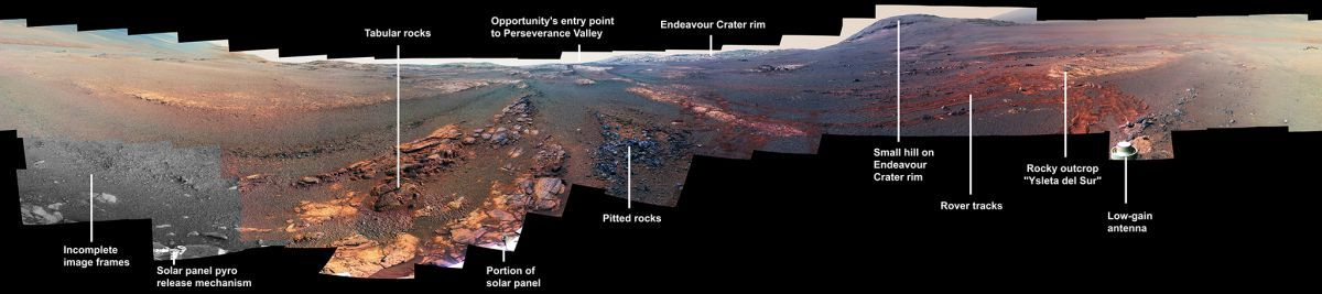 These Are the Last Photos NASA's Opportunity Rover Took on