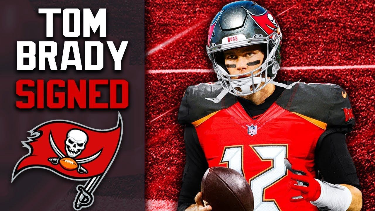 Bucs Sign Brady In 2020 Tom Brady Nfl Tom Brady Buccaneers