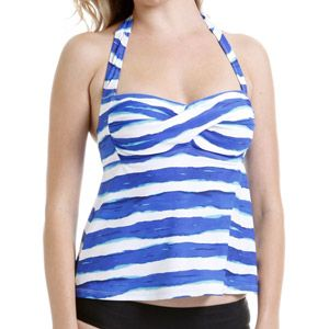 744bef016a6 Catalina Women's Twist Halter Tankini Swimsuit Top - Walmart | Swim ...