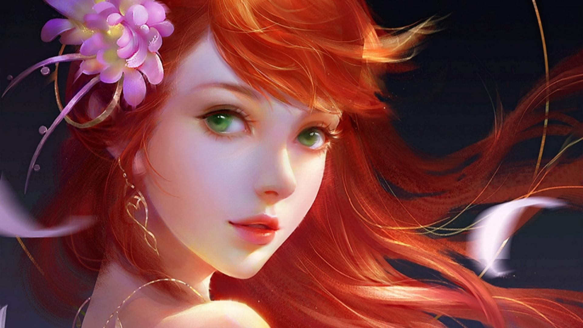 red haired vampire art google search characters female