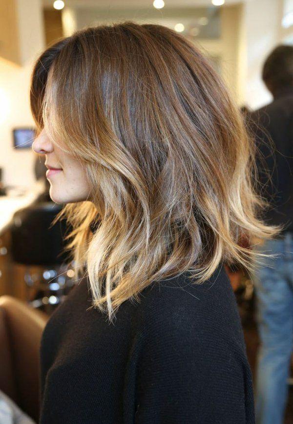 Effet couleur cheveux mi long