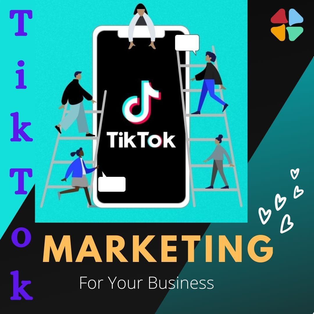 Tiktok Marketing Small Business Online Marketing Online Marketing Tools Marketing