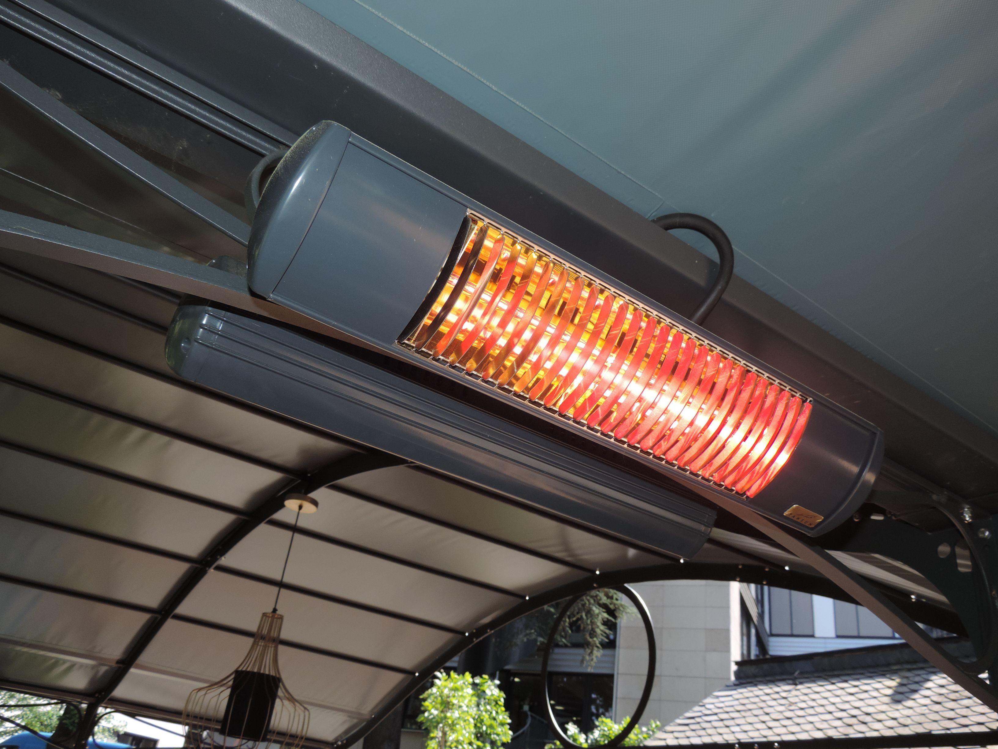 Angenehme Warme Auf Der Terrasse Auch Bei Kuhlen Temperaturen Tansun Heizstrahler Machen Es Moglich Heizstrahler Terrasse Strahler