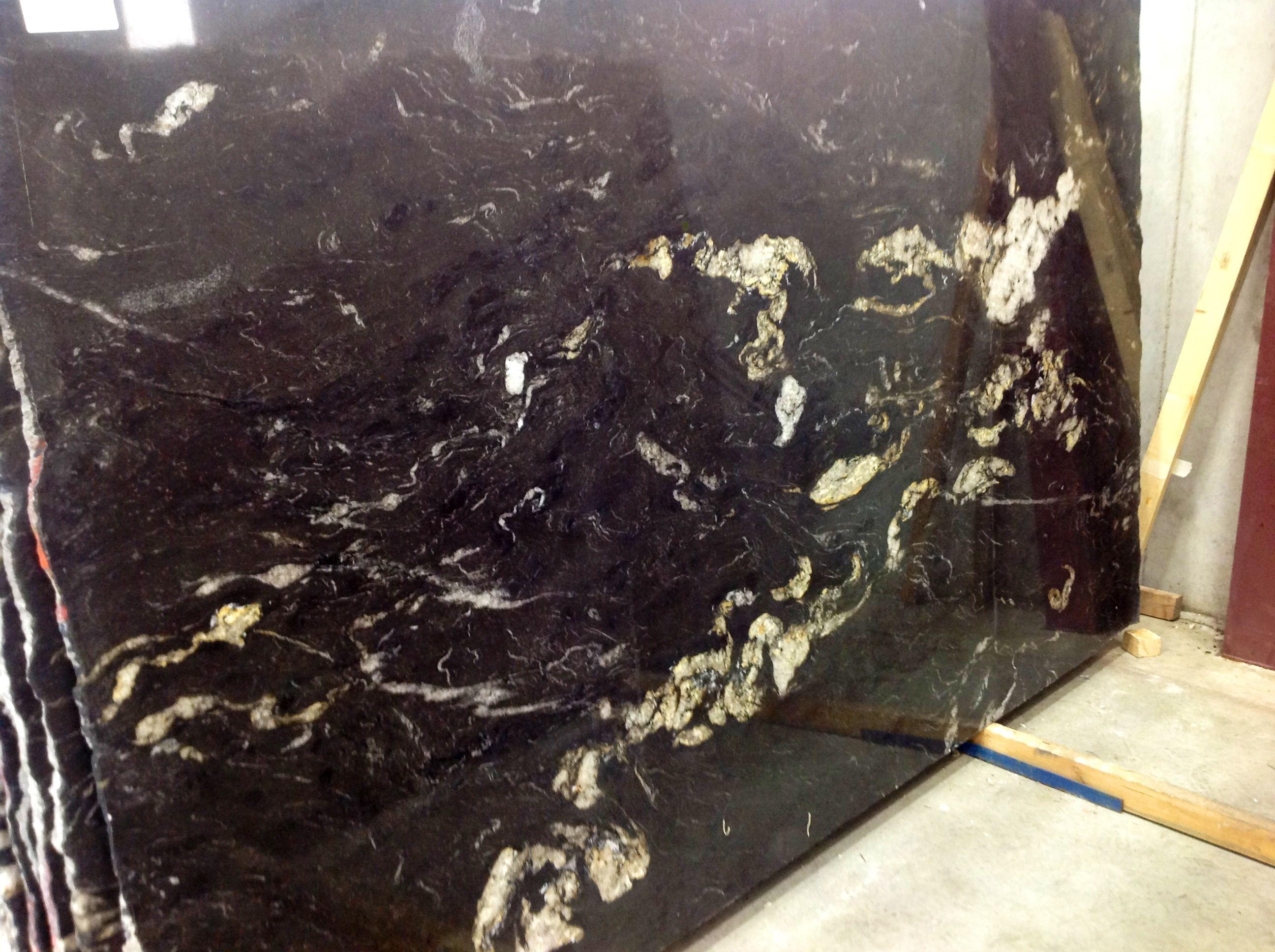 Titanium or Atacaba Black granite slab   Kitchen   Titanium granite